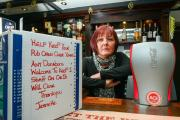 Villagers rally round exhausted community pub manager's attempt to keep the Blue Bell of Bishopton open for Christmas