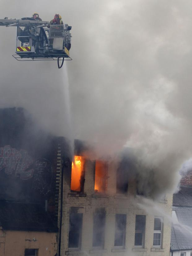One person unaccounted for after Newcastle city centre fire